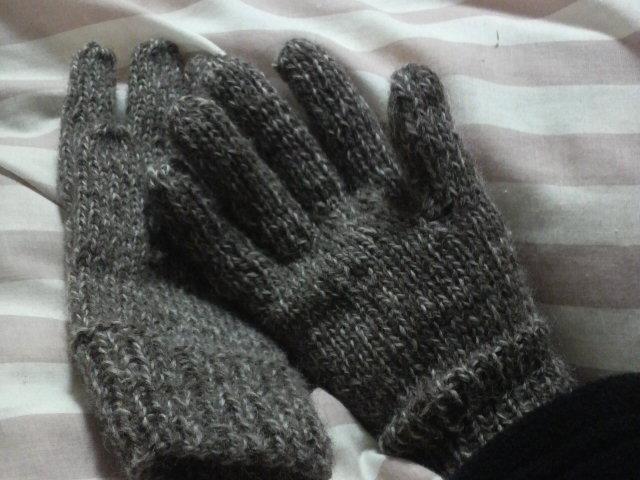 あったか手袋♪